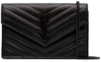Saint Laurent Black Monogram cross-body bag
