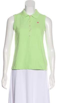Lilly Pulitzer Collared Sleeveless Top