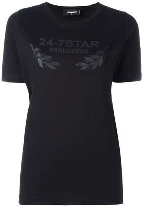DSQUARED2 24-7 STAR logo T-shirt