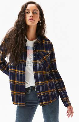 LA Hearts Boyfriend Flannel Shirt