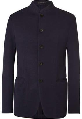 Giorgio Armani Cotton-Blend Seersucker Jacket