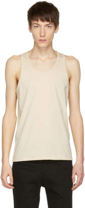 Lemaire SSENSE Exclusive Beige Cotton Tank Top