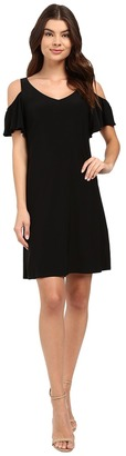 Christin Michaels Vera Cold Shoulder Dress $69 thestylecure.com