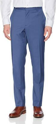 Perry Ellis Men's Portfolio Slim Fit Subtle Check Pant