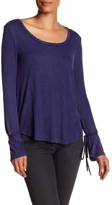 Anama Scoop Neck Long Sleeve Shirt