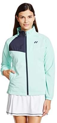 Yonex (ヨネックス) - (ヨネックス) YONEX テニス 裏地付ウィンドウォーマーシャツ(フィットスタイル) 78046 [レディース] 427 アクアミント O