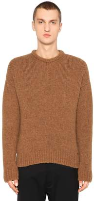 DSQUARED2 Alpaca & Wool Blend Knit Sweater