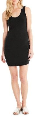 Women's Michael Stars Ruched Side Tank Dress $84 thestylecure.com