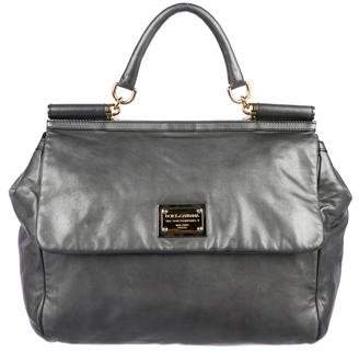 Dolce & Gabbana Metallic Miss Sicily Bag