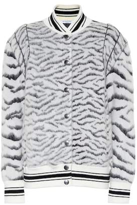 Givenchy Mohair-blend jacket