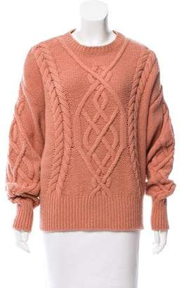 Emilio Pucci Oversize Cable Knit Sweater