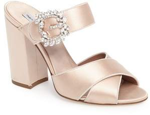 Tabitha Simmons Reyner Crystal Buckle Sandal