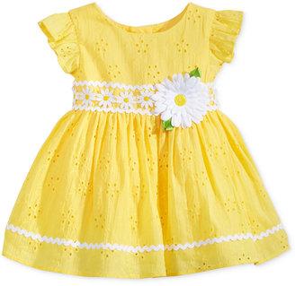 Sweet Heart Rose Eyelet Flower Dress, Baby Girls (0-24 months) $50 thestylecure.com