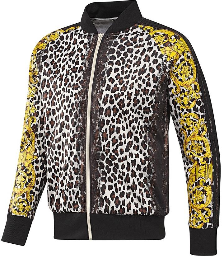 Jeremy Scott Leopard Track Top