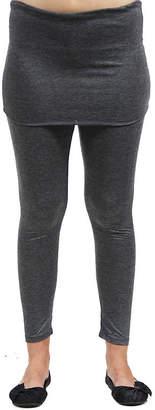 24/7 Comfort Apparel Layered Knit Leggings