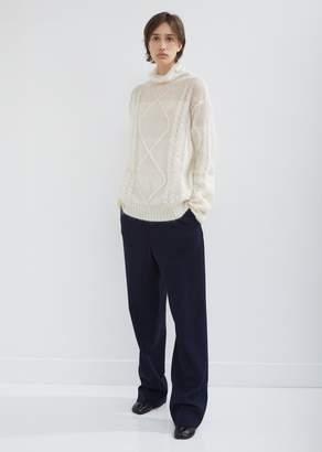 Maison Margiela Wool Gabardine Trousers