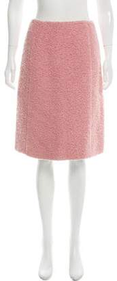Rochas Alpaca and Mohair-Blend Skirt w/ Tags