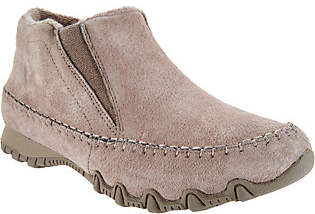Skechers Relaxed Fit Suede Ankle Boots -Spirit Animal
