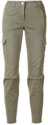 Cambio slim cargo trousers