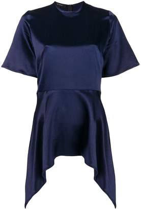 Sid Neigum asymmetric hem blouse