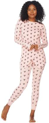 Anybody AnyBody Loungewear Cozy Knit Waffle Pajama Set