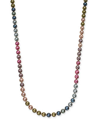 """Charter Club Gold-Tone Imitation Pearl Strand Necklace, 60"""" + 2"""" extender"""