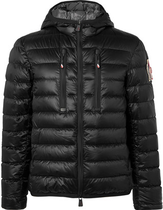 Moncler Kavik Quilted Hooded Down Ski Jacket