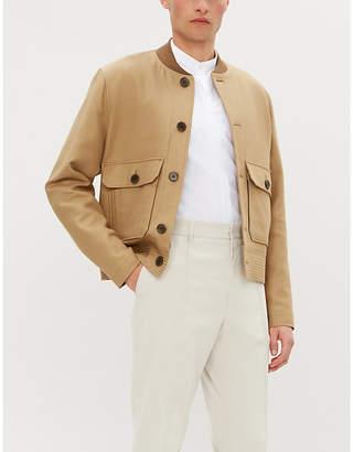 Tiger of Sweden Slim-fit cotton and linen-blend shirt