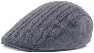 King Star Men Irish Knitted Wool Duckbill Flat Cap Newsboy Gatsby Driver  Caps Hat 6519901e6b7b