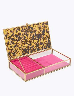 M&S CollectionMarks and Spencer Tortoise Shell Print Jewellery Box