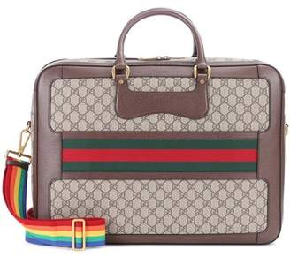 Gucci Coated canvas travel bag