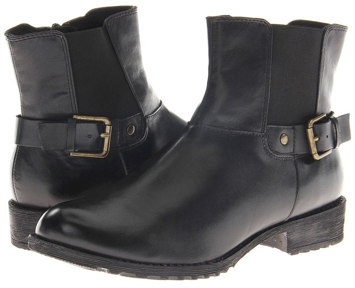 Hush Puppies Madison Chelsea (Black WP Leather/PU) - Footwear