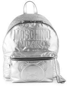 Moschino Embossed Teddy Bear Logo Backpack