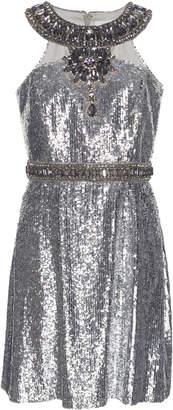 Andrew Gn Sequin Embellished Cocktail Dress