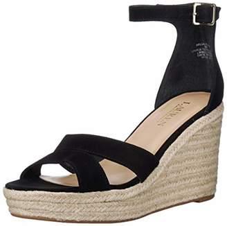 Lauren Ralph Lauren Women's HALDA Espadrille Wedge Sandal