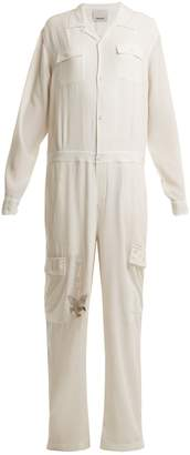MHI Eagle Tour silk jumpsuit