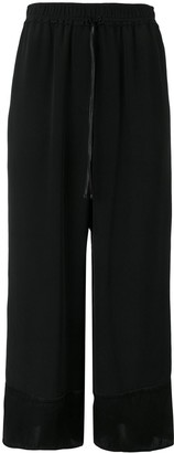 3.1 Phillip Lim flared cropped trousers
