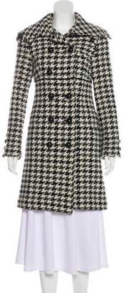 Soia & Kyo Wool Houndstooth Coat