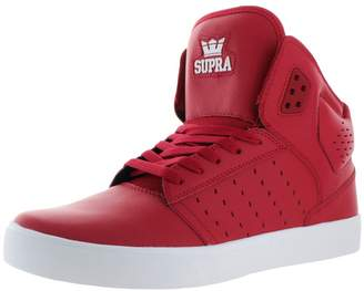 Supra Mens Atom High Top Leather Trim Skateboarding Shoes 11 Medium (D)