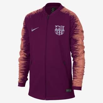 Nike FC Barcelona Anthem Big Kids' Soccer Jacket