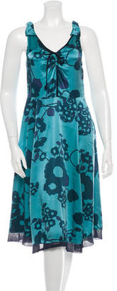 Marc by Marc Jacobs Silk Printed Dress $100 thestylecure.com