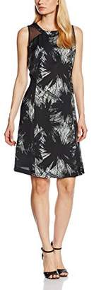 Daniel Hechter Women's 9002-79032 Pencil Sleeveless Dress - Black - 8