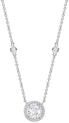 Kiki McDonough Grace White Topaz & Diamond Necklace