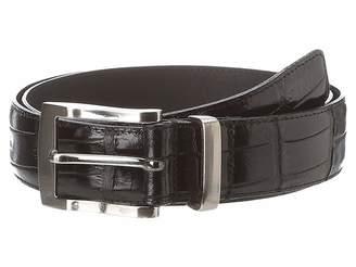 Florsheim Croc Embossed Leather Belt Men's Belts
