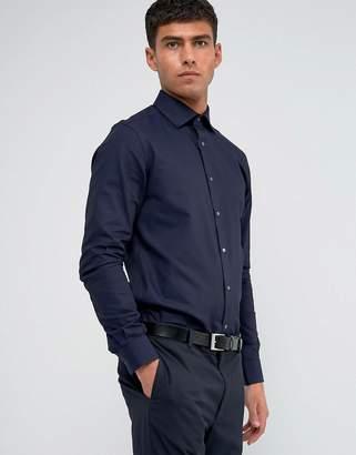 Reiss Regular Smart Shirt With Cutaway Collar