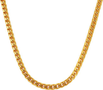 JCPenney FINE JEWELRY Mens Yellow Ion-Plated Stainless Steel Necklace
