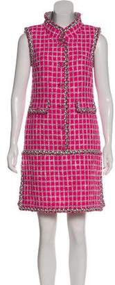 Chanel Fantasy Tweed Bouclé Dress