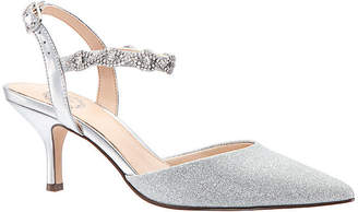 I. MILLER I. Miller Womens Bryanna Buckle Pointed Toe Cone Heel Pumps