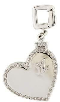Louis Vuitton 18K Heart Locket Charm