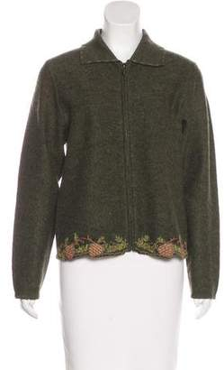Woolrich Embroidered Wool Sweater